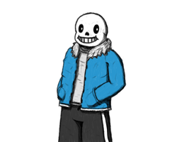 Sans, Holy crap this turned out amazing by Mehplox