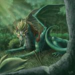 Forest Dragon by CindyAA