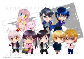 Chibi K animation character sets by ernn