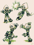 More Peridot Sketches by KP-ShadowSquirrel