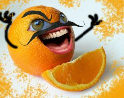 Annoying Orange? by Squirrelosaurus-Rex