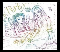 Paradise Kiss Pajama Party by Whisper-of-a-RAVEN