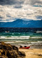 Tahoe Whitewater by StephGabler
