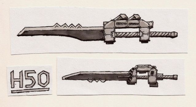 Sword Things... I Dont Know... by Leviathan-Corp