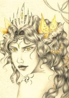 Sidhe Queen by SyriusAntares