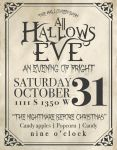 All Hallow's Eve Poster by audreychristensen
