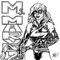 Ms Marvel by toegar