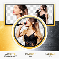 Pack Png 68// Ariana Grande. by ExoticPngs