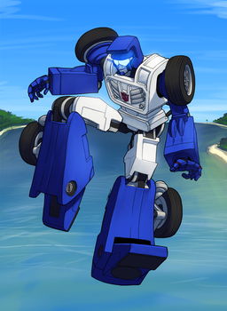 Transformers Beachcomber by Pinkuh