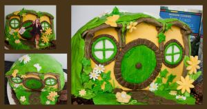 Details of the Bag end cake by StellaVD