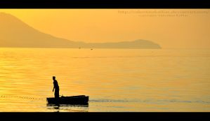 Fisherman - Greece by ValentinaKallias