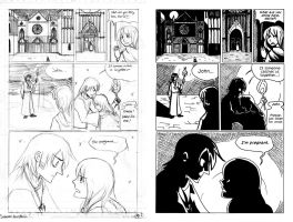 Gothic Comic pg 1 by ThatDarnKat