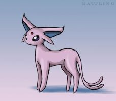 Espeon Animation by Kattling