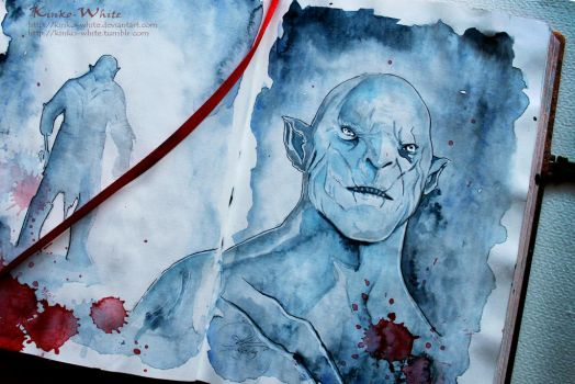 The Pale Orc by Kinko-White