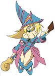 Dark Magician Girl by xX-DEATH-REAPER-Xx