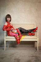 Anna Williams Tekken 6 cosplay by Gabardin