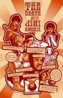 The Death of Jimi Hendrix by chunkplex