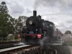 BB18 1/4 No.1079 depart Laidley Station by RedtailFox