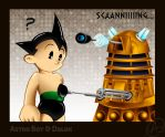 Astro Boy and Dalek by NekoAmine