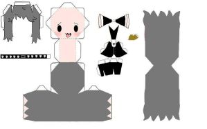 Black Butler Pluto papercraft by 6turtles