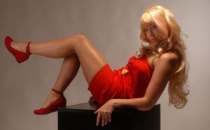 Sheryl Nome Red Mini Dress by MissNoblesse