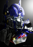 Optimus Prime movie by DCSPARTAN117artwork
