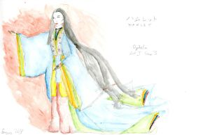 Ophelia (in Heian Japan) by Qoo42