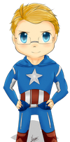 Captain America, Version: Alfred by Midoromi