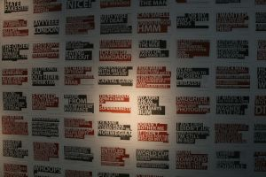 Wall of Quotes by sleeponground