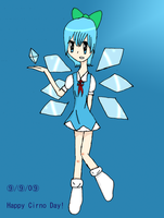 Happy Cirno  Day by Icey-chan