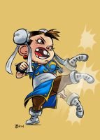 Lil' Scrap Fighter ChunLi by irongiant775