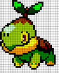 Turtwig Template by DragonChaser123