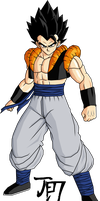 Gogeta T.A. by jeanpaul007