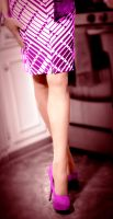 Pretty in pink- legs by lesleigh525