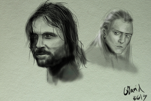 LOTR sketches... by duh-veed