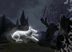 Patronus Contest Entry by LovelyHufflePuff