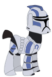 Echo from Star wars the clone wars Vector by Ripped-ntripps