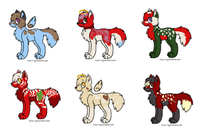 Christmas Point Adoptables OPEN by SwiftyNifty