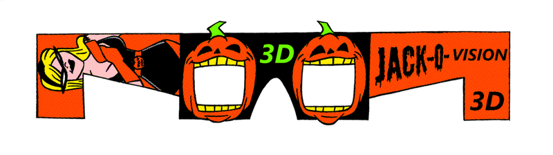 Printable 3D Glasses Template by ivy7om