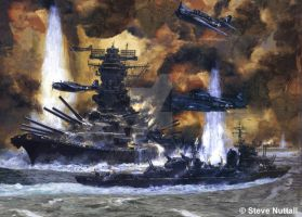 Yamato's Last Stand by LyokoWarrior4ever