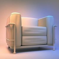 Armchair for XNALara DL. by Rockeeterl