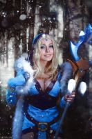 Crystal Maiden Dota 2 cosplay by ShlachinaPolina