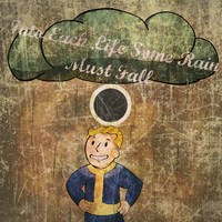 Into Each Life Some Rain Must Fall - Record sleeve by Joe0202