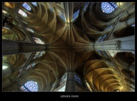 cathedral cloister by magrolino