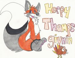 Merry Thanksgiving by LucidFoxie