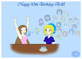Arill's 10th Birthday by GamingGirl73