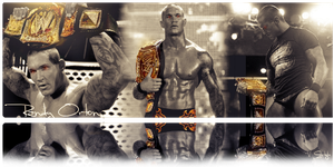 Randy Orton WWE Champion by Graphfun