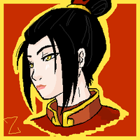 Azula oekaki by devilish-angel