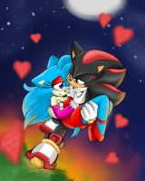 Request: Shadow and Chloe by mino-the-cat
