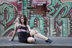 Urban Girl 41 by krissybdesignsstock